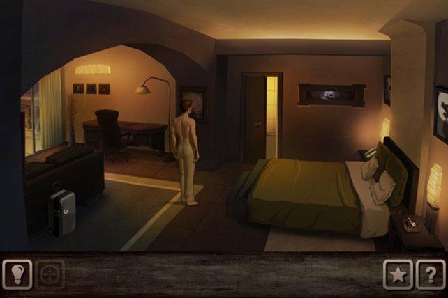 Ein Hotelzimmer voller interessanter Dinge zum Entdecken.