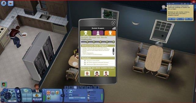 Auf dem Smartphone könnt ihr euer Ansehen in den sozialen Gruppen überwachen.