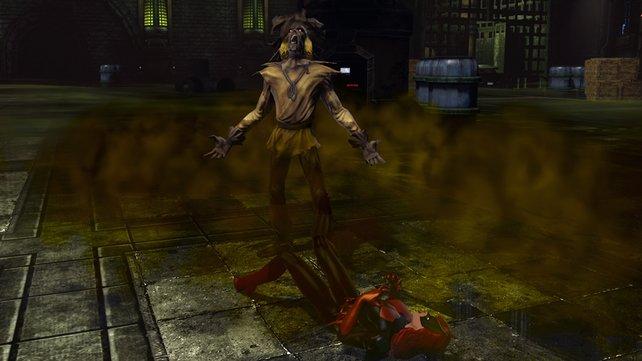 Catwoman braucht gegen Scarecrow dringend eure Hilfe.
