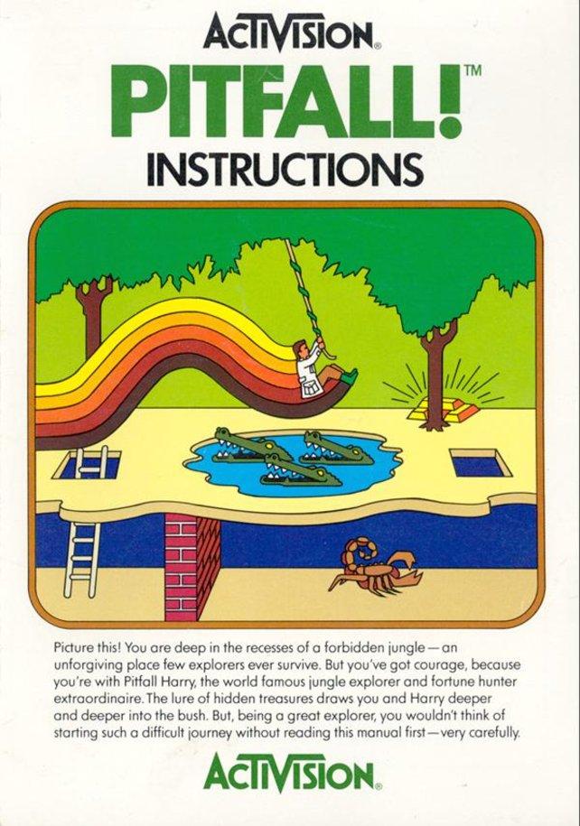 Das 1982 erschienene Pitfall dient als Vorlage.