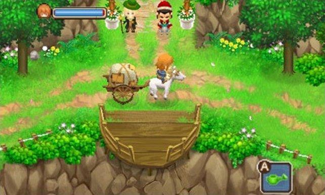 Harvest Moon bleibt seinem bunten Stil treu.