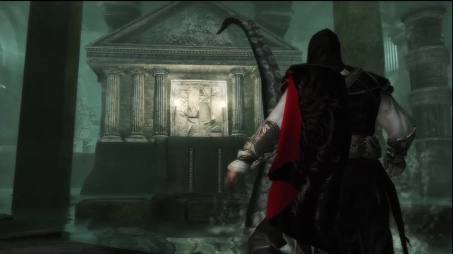Tentakelalarm in Assassin's Creed 2.