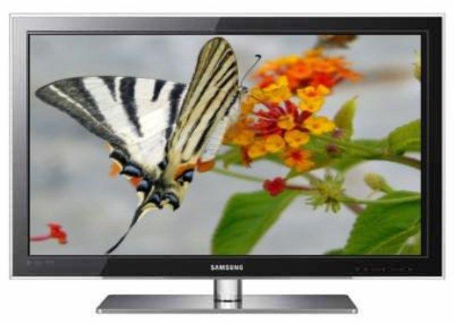Auch Samsung ist mit 3D-Geräten dabei. Preis: rund 2.400 Euro.