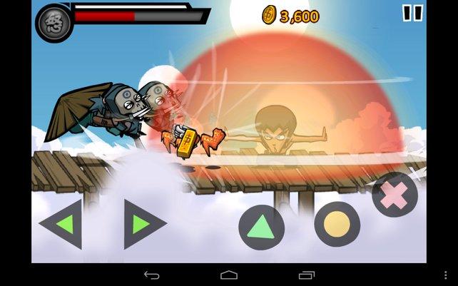 Per Superangriff fegt ihr die Feinde vom Bildschirm.