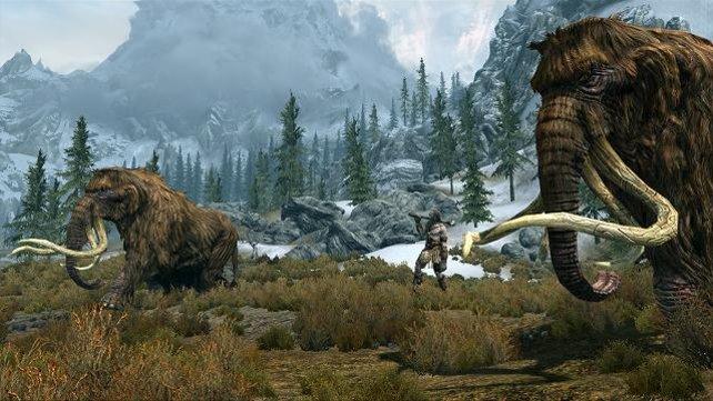Das nordische Skyrim beeindruckt mit vielen authentischen Details.