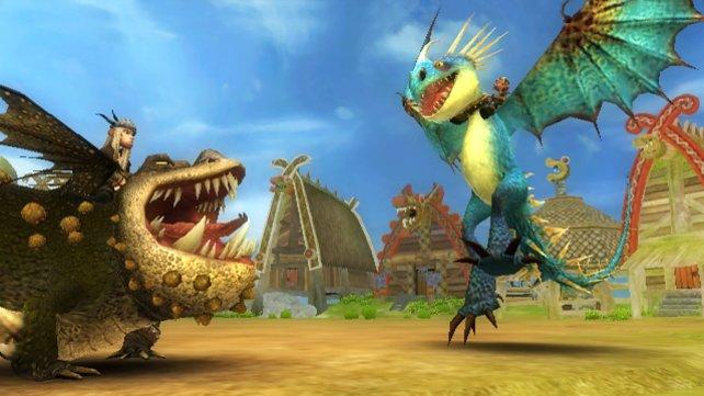 Im Spiel gibt es die unterschiedlichsten Drachen.