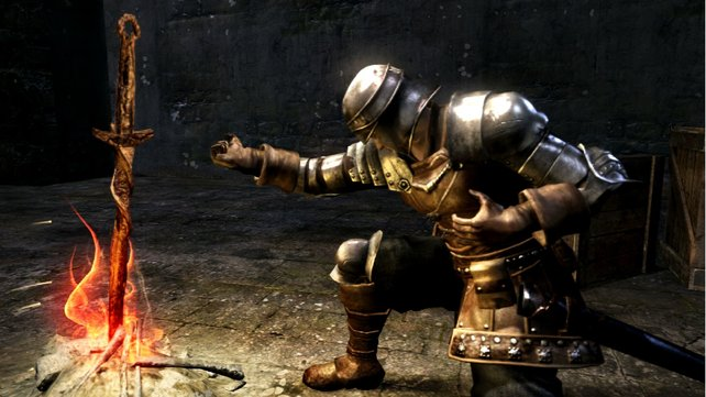 """Lagerfeuer heißen im Spiel """"Leuchtfeuer"""" und sind Speicherpunkte, an denen ihr neu starten könnt."""