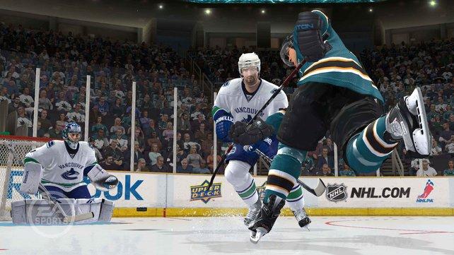 Optisch sowie spielerisch ist NHL 12 ein Leckerbissen - und das Maß aller Dinge.