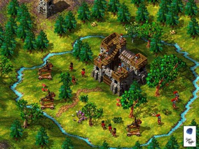Eine Festung der Römer