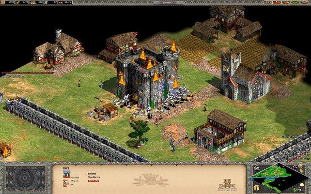 Age of Empires 2 HD präsentiert euch den Strategie-Klassiker im neuen Grafik-Kleid.