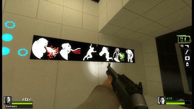 Uh, GLaDOS ... das mit der Zombieinvasion kriegst du noch zurück!