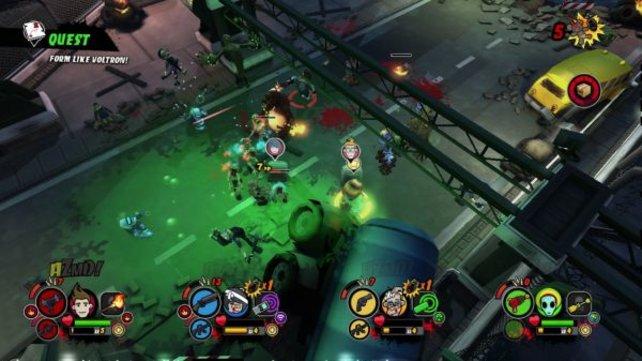 Zombie-Spiele müssen nicht immer fies und düster sein.