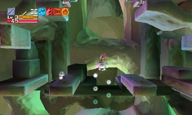 In Szenen mit Blick in die Tiefe kommt der 3D-Effekt zum Tragen.