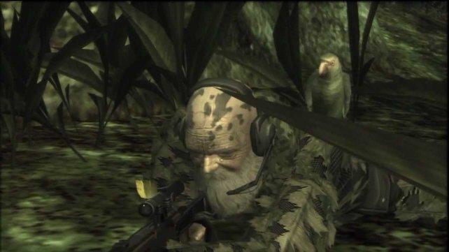 """Den Gegner """"The End"""" aus Metal Gear Solid 3 besiegt ihr mit einem besonderen Trick."""