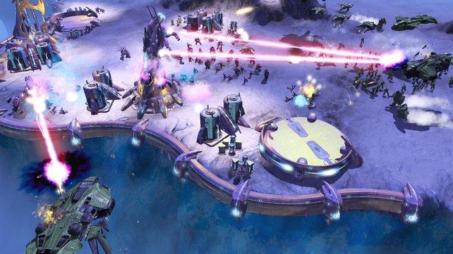 Strategie im Halo-Universum.