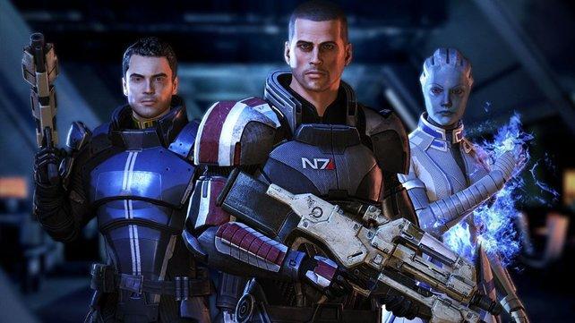 Auf sein Team kann sich Commander Shepard immer verlassen.