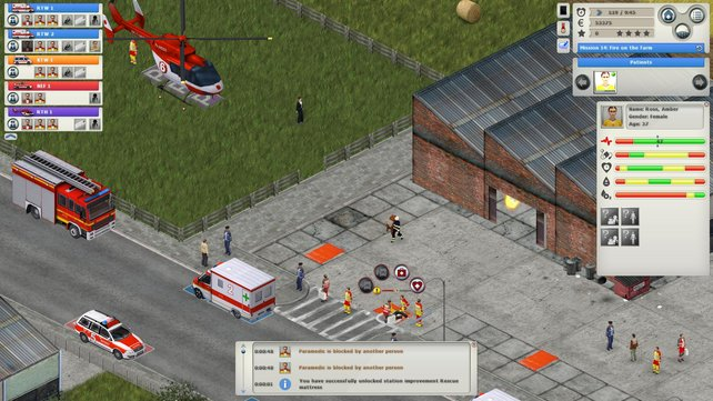 Ob der Rettungshubschrauber noch hilft?