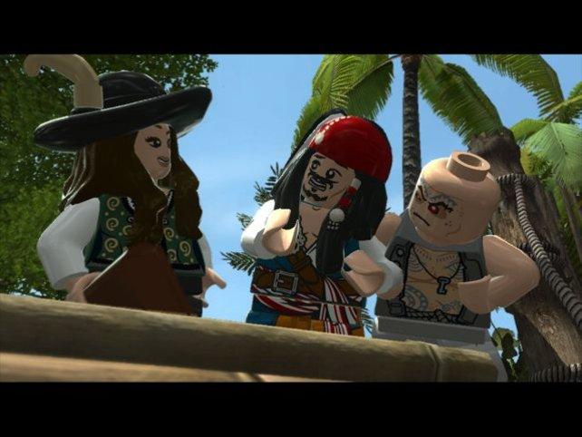 """Auch der neue Film """"Fremde Gezeiten"""", in dem Captain Sparrow wieder in Probleme gerät, findet sich im Spiel."""