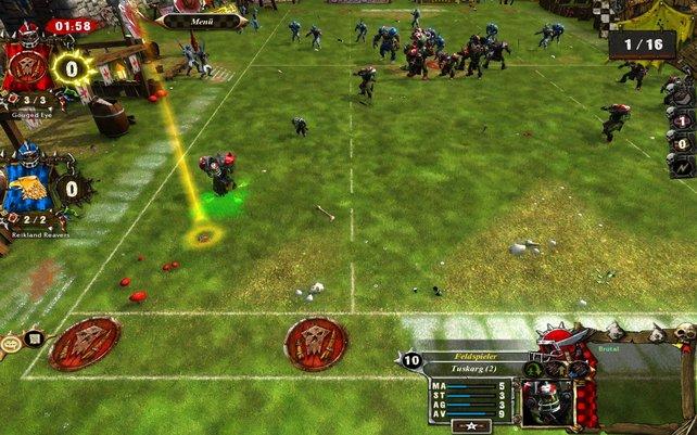 Die Aktionspunkte der Spieler pro Runde sind begrenzt.