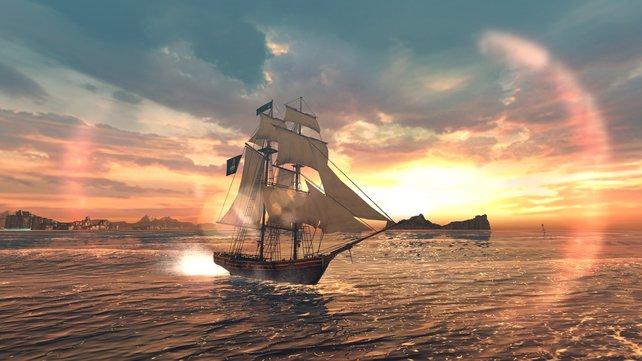 Schicke Grafik für Tablets und Smartphone: Assassin's Creed - Pirates.
