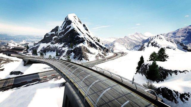 Unter den neuen Strecken sind die Berner Alpen am beeindruckendsten.