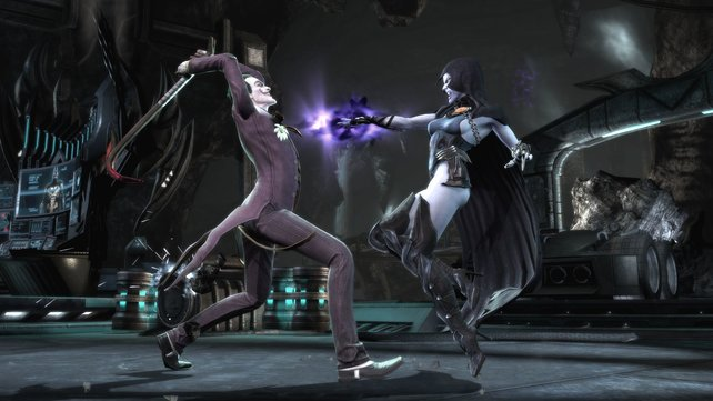 Joker ist durch nichts zu stoppen, auch Raven kann dagegen nichts ausrichten.