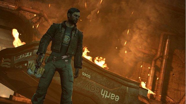 Holt euch einen Soldaten als Partner in der kooperativen Kampagne von Dead Space 3.