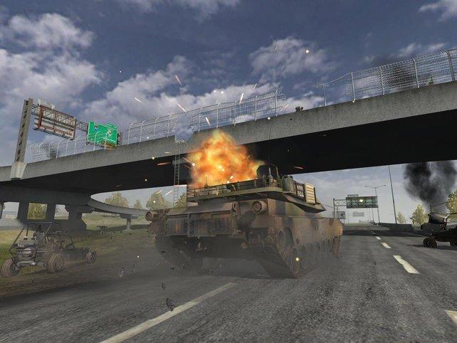 Der Highway ist eines der neuen Schlachtfelder des Booster Packs