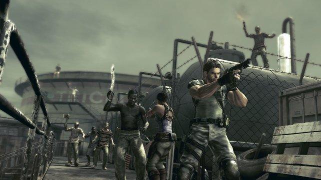 In Resident Evil 5 wird's nicht ganz so düster.