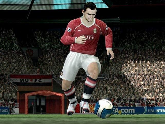 Kleiner Versionsvergleich: hier Wayne Rooney in der PC-Fassung...