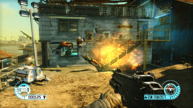 Explosivgeschosse verkürzen so manches Gegnerleben.