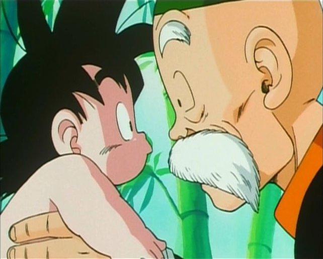 Ultimate Tenkaichi greift Son-Gokus erste Gehversuche kurz auf.