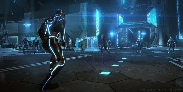 I'm Blue Dabadieh Dabadeih... Anon vor den Neonlichtern von TRON-City