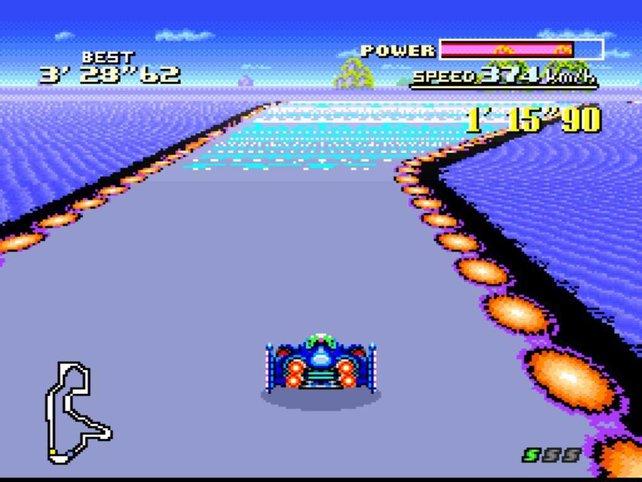 F-Zero von 1990: ein wegweisendes Rennspiel.