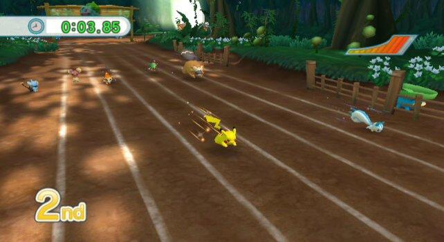 Ihr könnt neben Pikachu auch viele andere Pokemon in die Wettkämpfe mitnehmen.
