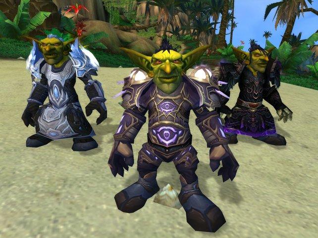 Eine Gruppe auf Seiten der Orks kämpfenden Goblins.