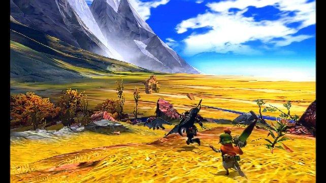 Die Jagd geht quer durch Einzelareale in trockenen Gebieten und im Gebirge.