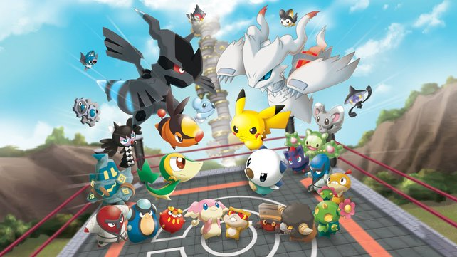 Über 600 Pokémon in ihrer Spielzeugform duellieren sich im ersten 3DS-Ableger.