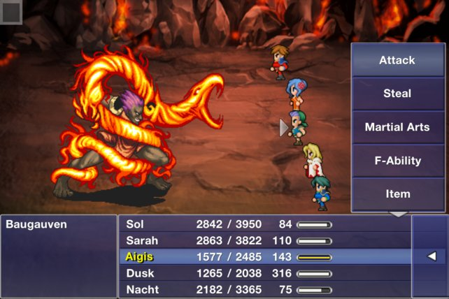 Mit Spielen wie Final Fantasy Dimensions macht sich Square Enix auf dem mobilen Markt einen Namen.