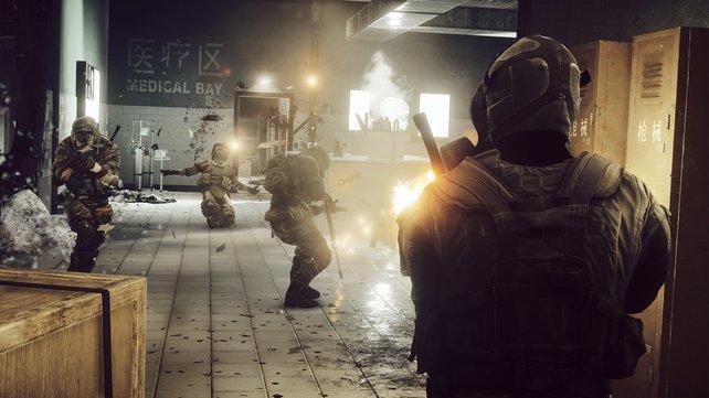 """Die Operation """"Spind"""" bietet enge Häuserkämpfe. Call of Duty lässt grüßen."""