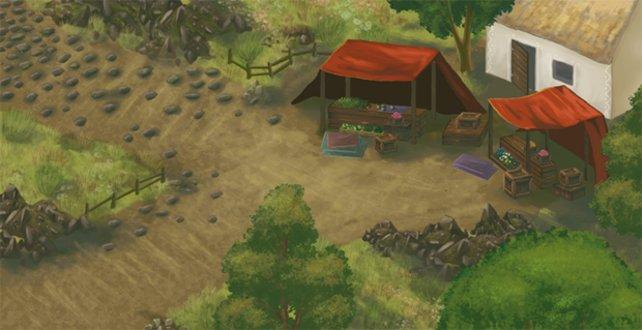 Das Spiel entsteht in klassischem 2D.
