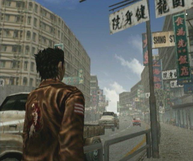 Schon vor zehn Jahren faszinierte Shenmue am Dreamcast mit realistischer Stadtkulisse.