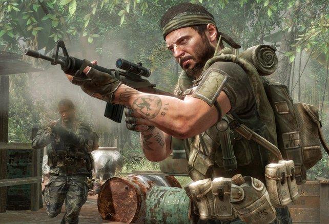 Mit einer Vielfalt an Szenarien bringt Call of Duty - Black Ops frischen Wind in die Serie.