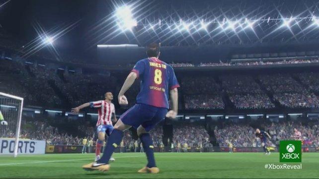 Fifa 14 ist eines der zahlreichen Spiele für die Xbox One.