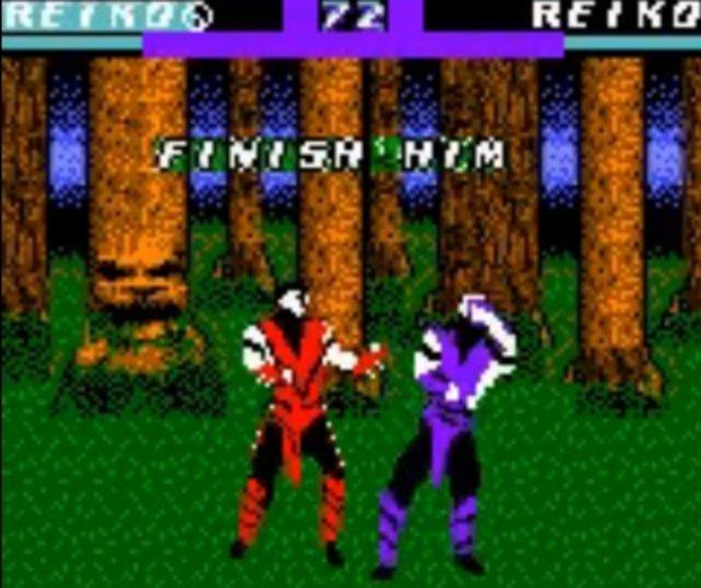 """""""Finish Him, oder Her, oder it?"""" - Das war auf dem Gameboy Color nicht so gut zu erkennen."""