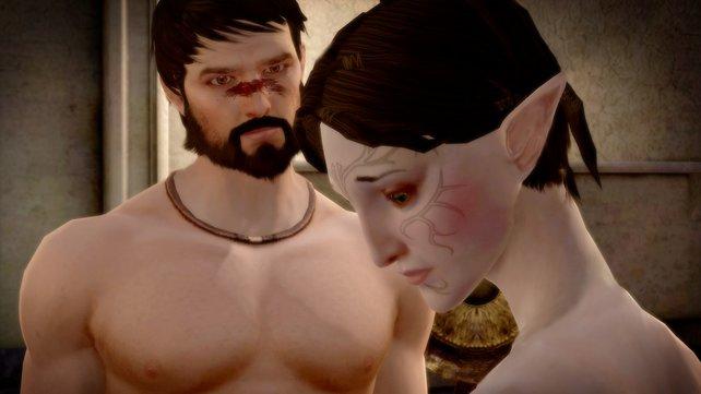 Die schüchterne Merrill liebt sensible Kuschel-Hawkes und gefährliche Magiespielchen.