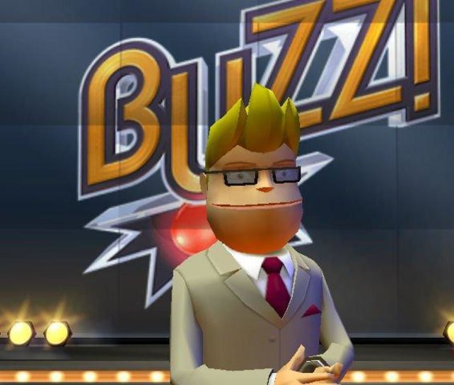 Buzz -der Moderator; in der DE Version wird dieser von Ingolf Lück syncronisiert