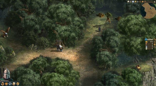 Heroes Online erinnert positiv an die grafische Vergangenheit der Spielereihe.