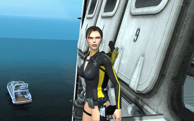 Lara mit skeptischem Blick in die Zukunft.