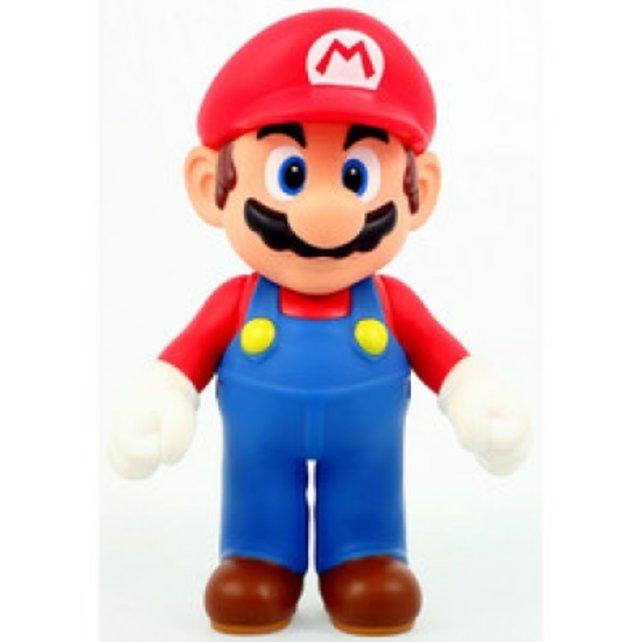Jeder der zehn Gewinner bekommt so eine Mario-Plüschfigur. Schick, oder?